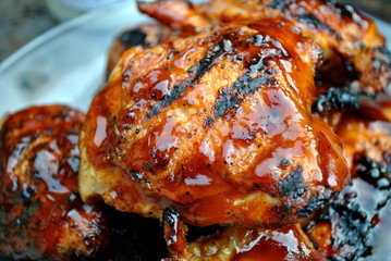Grilled Juicey Chicken Thighs
