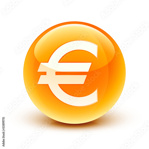 quotic244ne euro argent finance euro iconquot fichier vectoriel