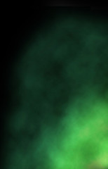 green smoke background design