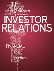 "Word Cloud ""Investor Relations"""