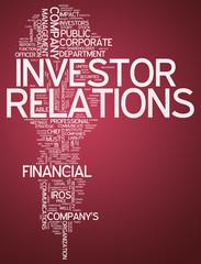 "Word Cloud ""Investor Relations"""