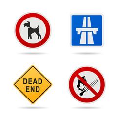 Verkehrszeichen, Schilder & Symbole