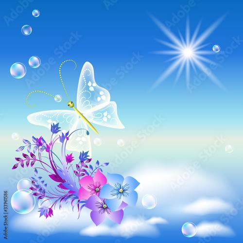 Песня бабочка летит скачать