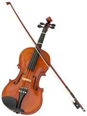 Violin cutout