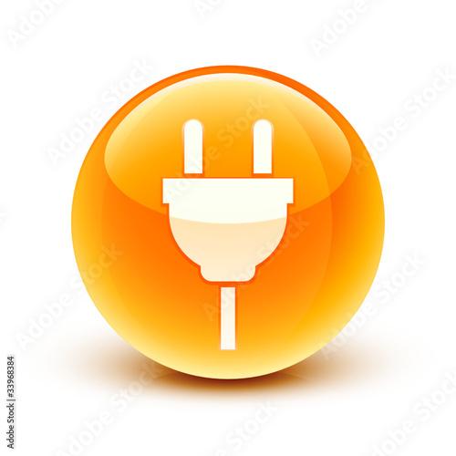 ic ne prise lectrique lectricit electrical outlet icon fichier vectoriel libre de droits. Black Bedroom Furniture Sets. Home Design Ideas