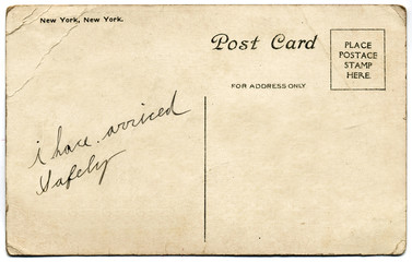New York, New York Postcard