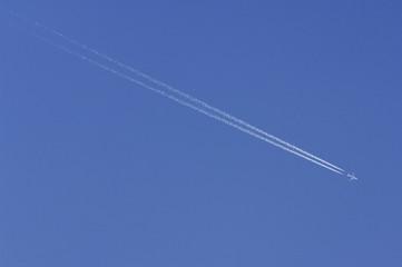 飛行機雲 のストック写真ロイヤリティフリーの画像ベクター