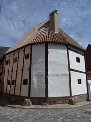 Ständerhaus, älteste Haus in Quedlinburg