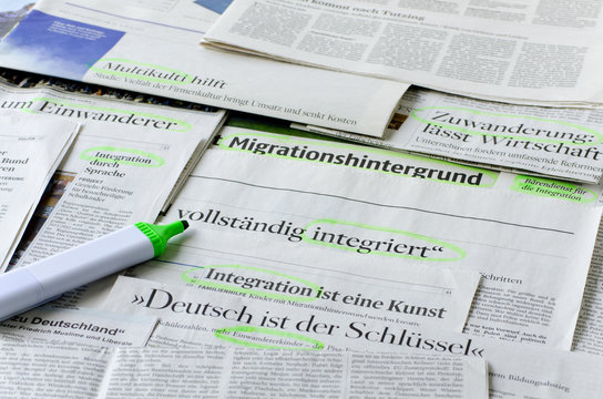 Migranten und Integration