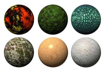 大理石の玉