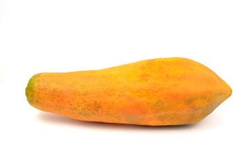 papaya isolated
