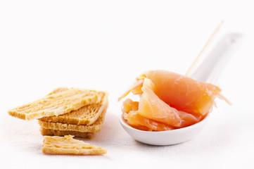 Lach mit Cracker
