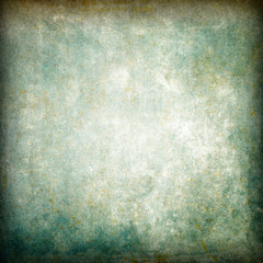 Old dirty surface, grunge texture with vignette