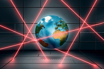 World behind Light Barriere