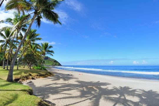 Plage de Grande Anse, La Réunion.