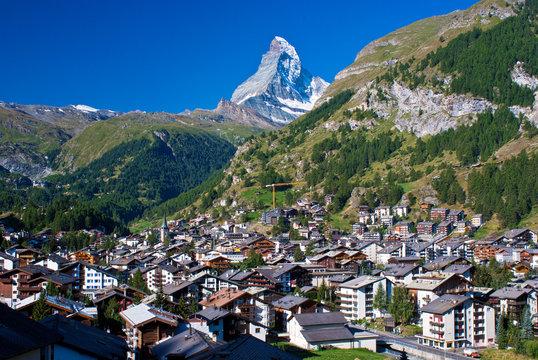 matterhorn, zermatt, switzerland.