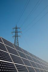 Renewable energy: solar panels