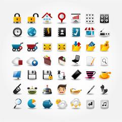 Internet & Website icons,Web Icons, icons Set.
