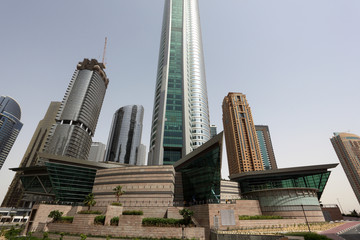 Jumeirah Lake Towers in Dubai, United Arab Emirates