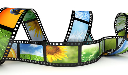 Film with images