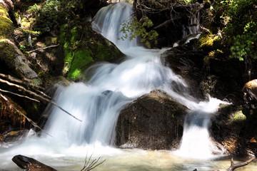 Morning cascades