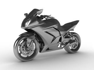 Keuken foto achterwand Motorfiets Silver moto concept