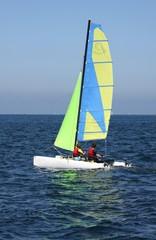 catamaran,voile,voilier,régate,vacances,bretagne
