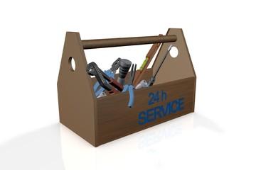 Werkzeugkasten - Service 24h
