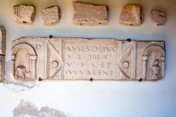 Lapidarium romano, Grado