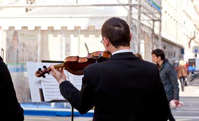Wall Mural - Violinista
