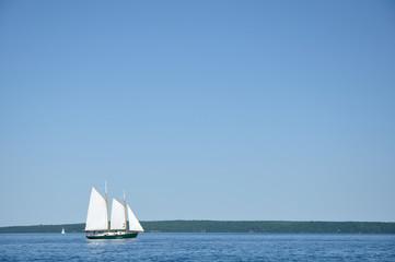 Schooner Sailboat Sailing