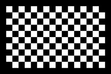 damier noir blanc