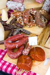 market meat.