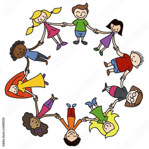 Kinderkreis Clipart