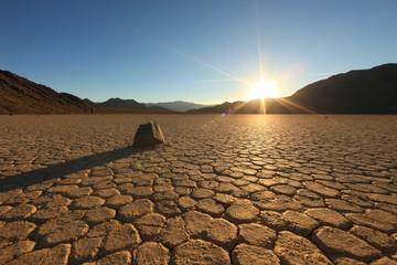 Foto op Plexiglas Zandwoestijn Beautiful Sand Dune Formations in Death Valley California
