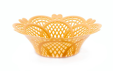 Yellow dish