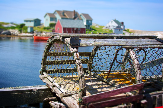 Lobster Trap and Fishing Village