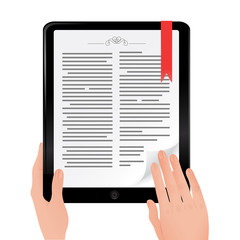 Online book read on Ipad