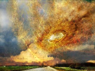 Абстрактная иллюстрация - Небесная линза
