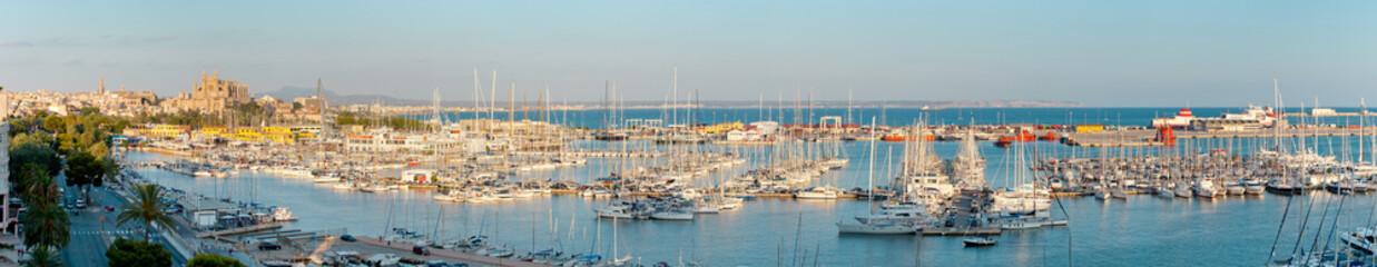 Panoramica Palma de Mallorca