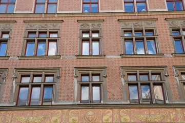 Suède, immeuble bourgeois à Stockholm