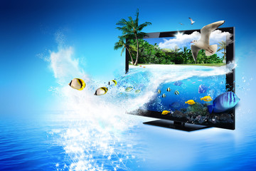 3D TV - magical world of nature