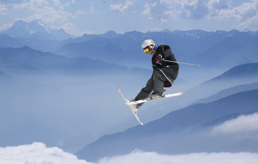ski jumper freestyle