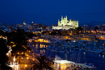 Palma by night