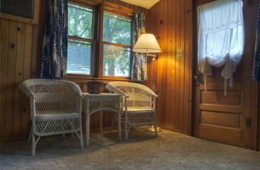 HDR of Cabin in Lake Okoboji, Iowa