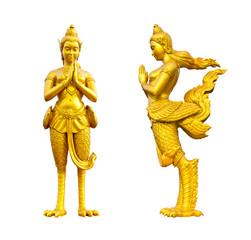 Kinaree, Thai style angle statue