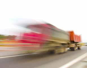 Shipping Cargo Blur