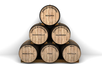 Tipos de vinos de la provincia de Cádiz