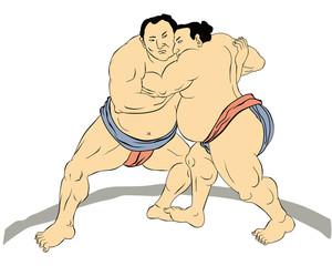 Japanese sumo wrestler