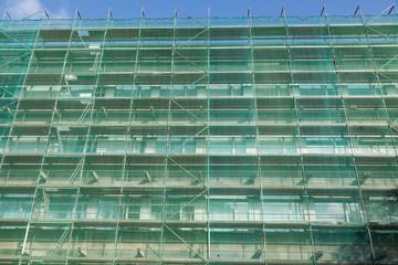Sanierung eines Hochhauses